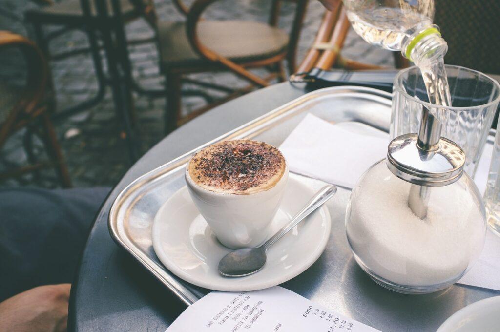 desayuno sano en cafetería