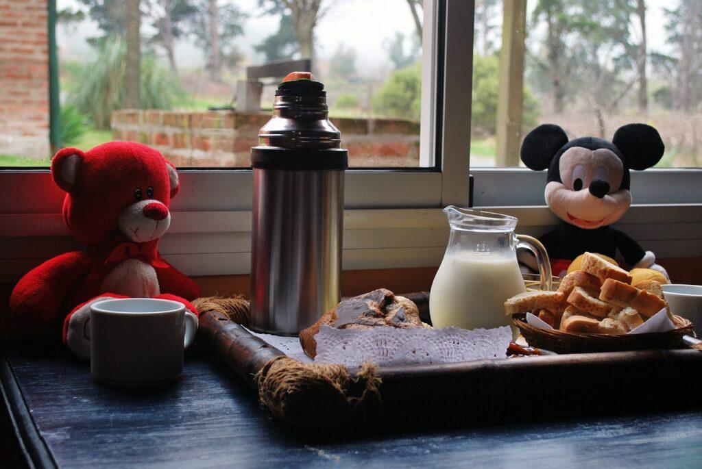 Desayuno sano infantil