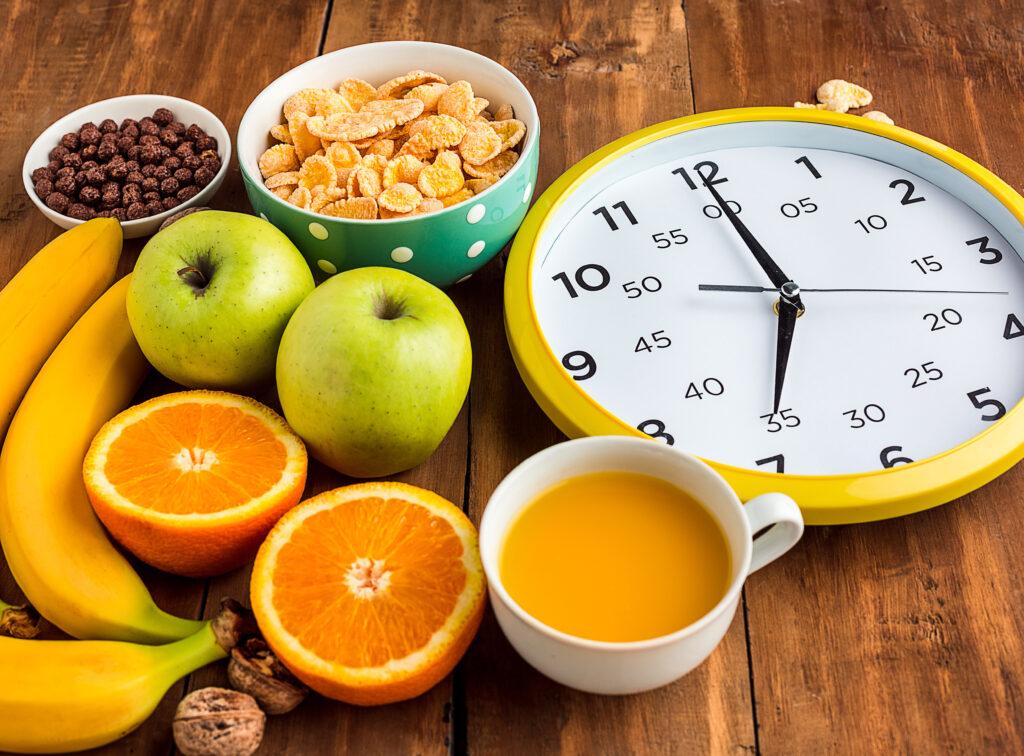 Horario desayuno sano Planificacion de comidas para familias